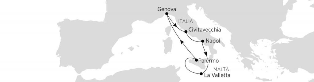 vacanza studio 2021 itinerario malta italia